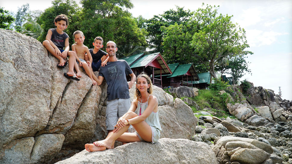 חופש גדול כל השנה: 3 משפחות ישראליות שעברו לגור באי בתאילנד