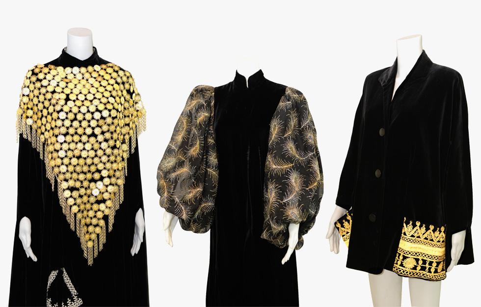 הכירה את האופנה העכשווית וידעה ליצור מחוות דיפלומטיות בהופעותיה באמצעות הבגדים (מתוך אוסף משפחת ירקוני, צילום: טל קירשנבוים)