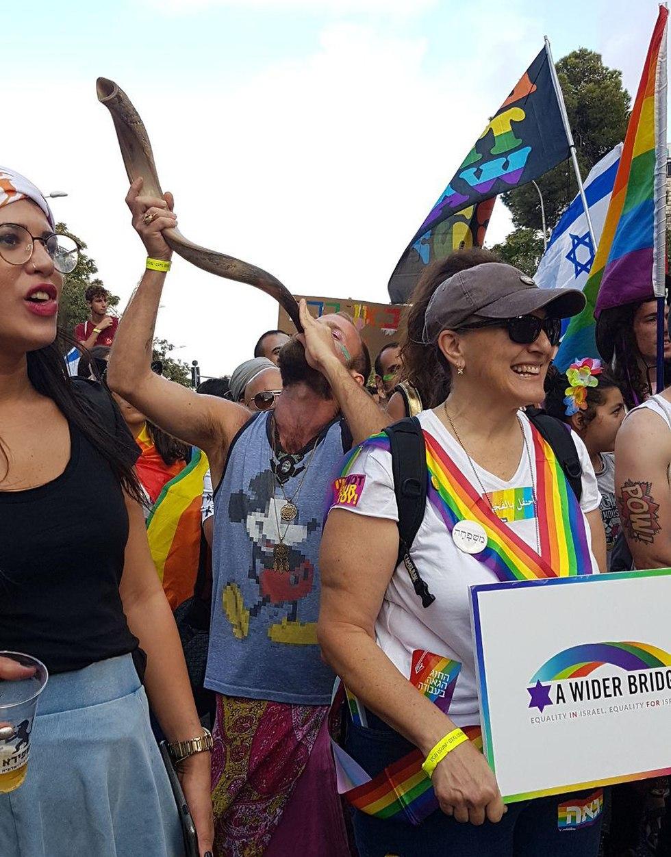 Gay Pride in Jerusalem, 2018  (Photo: Inbar Tvizer)