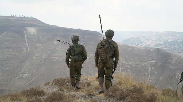 אירוע תקיפת חוליית המחבלים בדרום רמת הגולן הסורית, סריקת כוחות צה