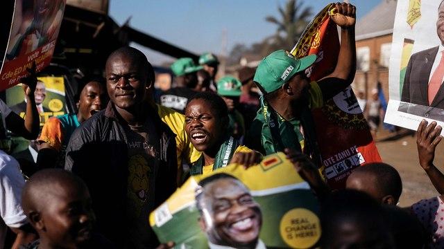 בחירות לנשיאות בזימבבואה (צילום: AFP)