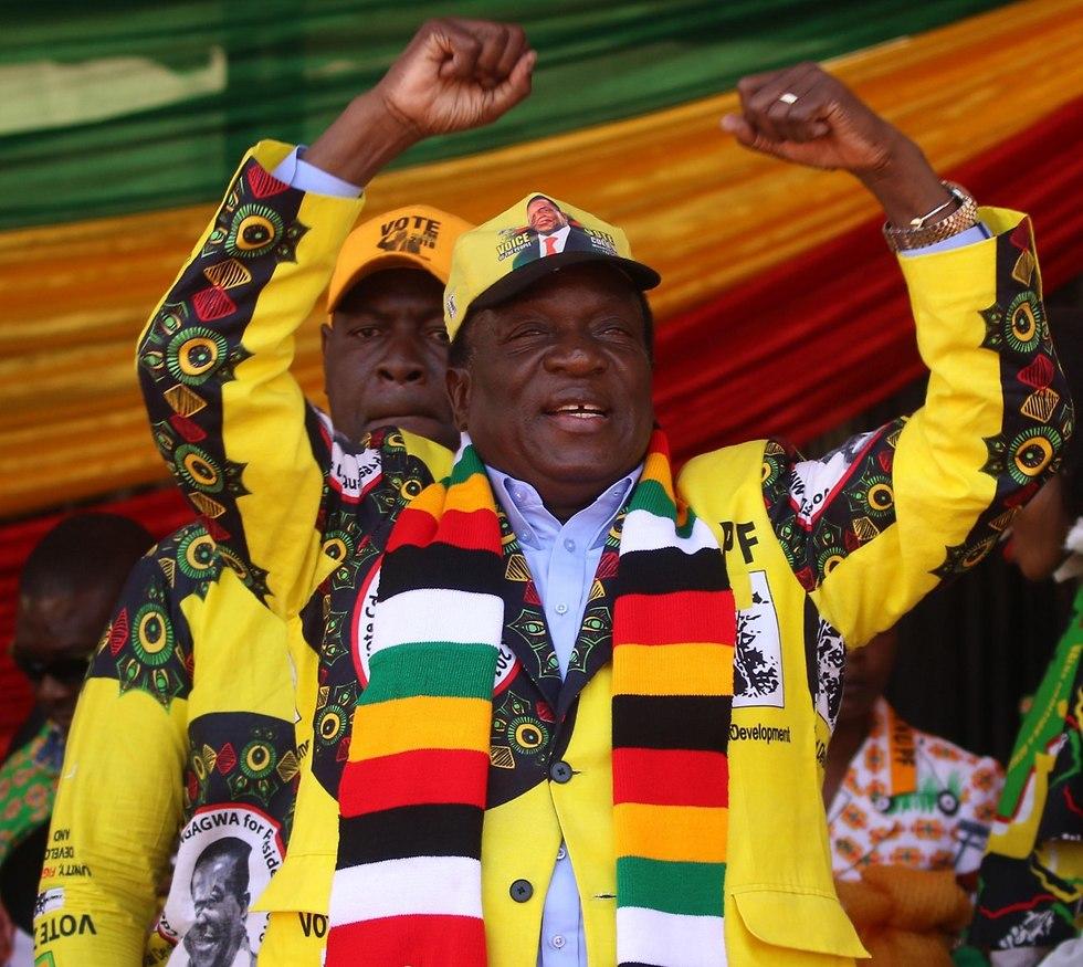 בחירות לנשיאות בזימבבואה (צילום: MCT)