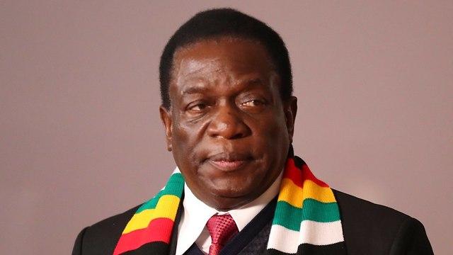 בחירות לנשיאות בזימבבואה (צילום: EPA)