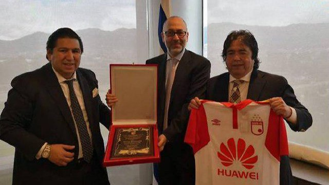 Israeli Ambassador Marco Sermoneta and club's president