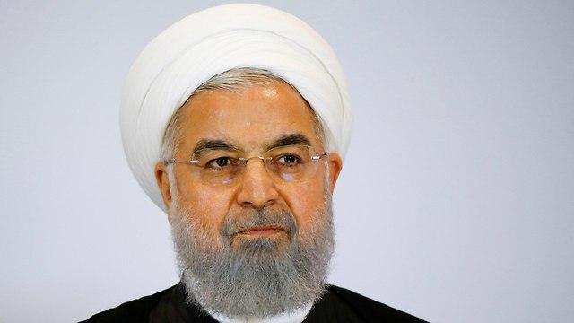 נשיא איראן חסן רוחאני (צילום: רויטרס)