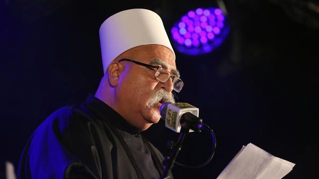 Sheikh Mowafak Tarif  (Photo: Motti Kimchi)