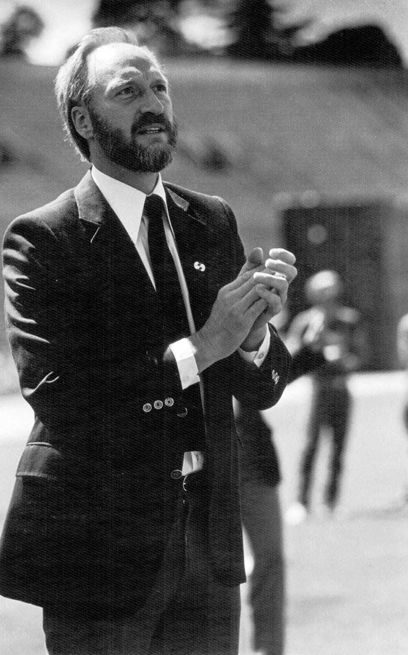 טום וואדל במשחקים הגאים הראשונים ב-1982 (צילום: Lisa Kanemoto)