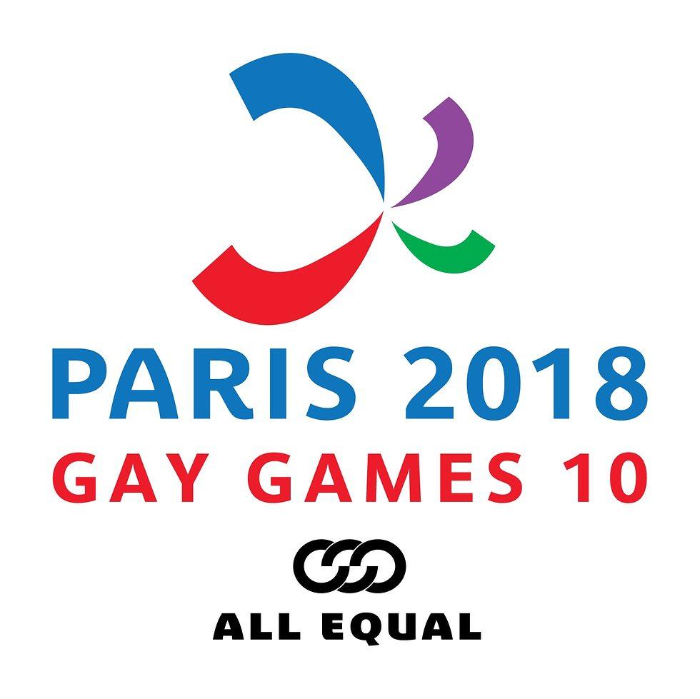 לוגו המשחקים הגאים בפריז 2018 ()