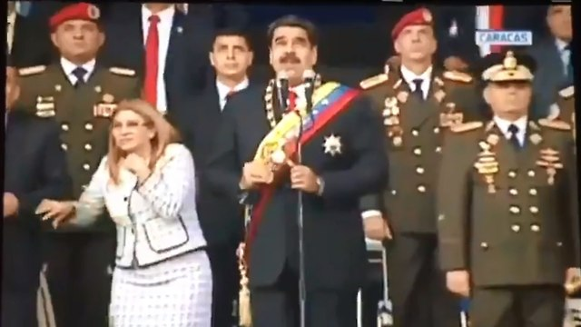 ניסיון התנקשות בנשיא ונצואלה ניקולס מדורו ()