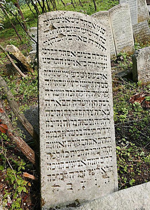 """בית העלמין בבוצ'אץ', שם התגלתה מצבתה של אמו של ש""""י עגנון (צילום: בוריס חיימוביץ')"""
