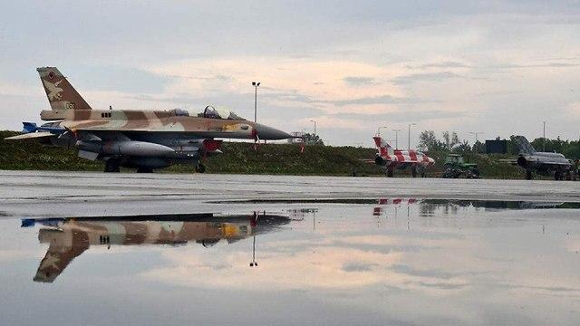 Israeli jets arrive in Croatia (Photo: Croatian Defense Ministry)