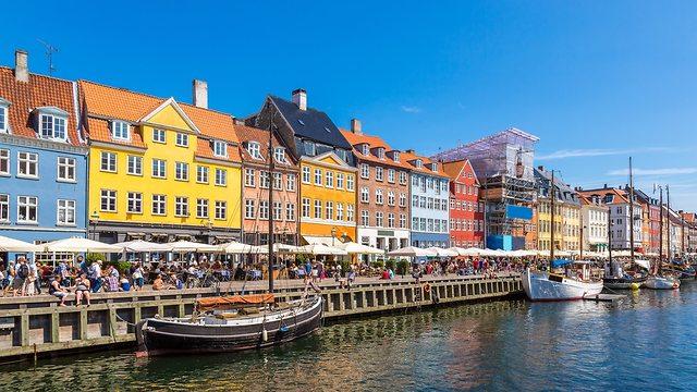 Копенгаген, Дания. Фото: shutterstock