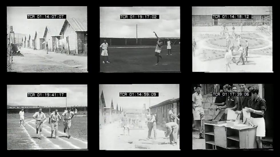 בעבודת הגמר של רותם אגוזי בוויצו חיפה יש שישה מסכים, שמפרקים את הסרט הנאיבי הישן לתחבולות ולתכסיסים שעומדים מאחוריו