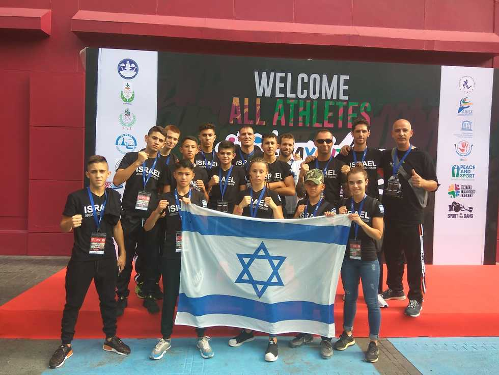 משלחת ישראל (צילום: באדיבות התאחדות אילת)