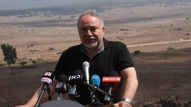 Defense Minister Avigdor Lieberman (Photo: Avihu Shapira)