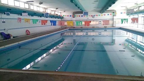 הבריכה נסגרה עקב בגלל בקשת התושבים לימי שחייה משפחתיים