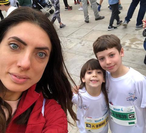 מרוץ ראשון של הילדים - סיימו בהצלחה (צילום: אלבום פרטי)