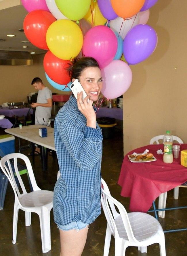 חגיגות ה-40 יוצאות לדרך. יעל גולדמן (צילום: אביב חופי)