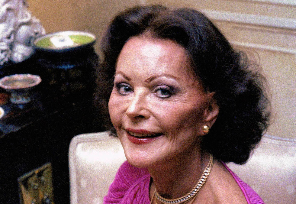 בשנים האחרונות לחייה הסתתרה מעיני הציבור, לאחר שפניה היפות הושחתו בעשרות ניתוחים פלסטיים. בגיל 65 (צילום: AP)