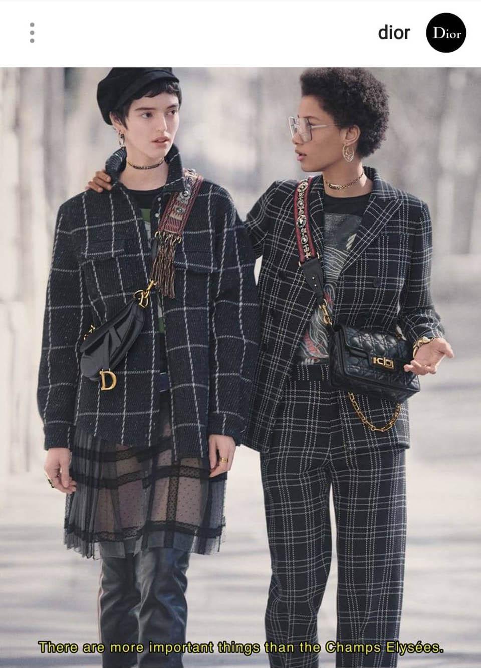 Коллекция Dior. Фото: Instagam