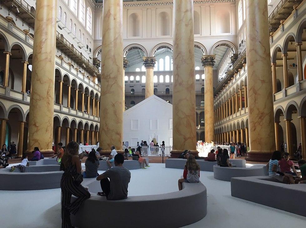 המוזיאון הלאומי  (צילום: אביעד עילם )