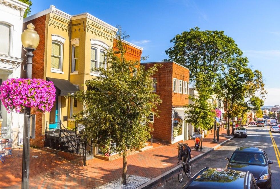 רחובות וושינגטון (צילום: shutterstock)