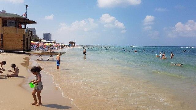 חוף הסלע (צילום: אסף קמר)