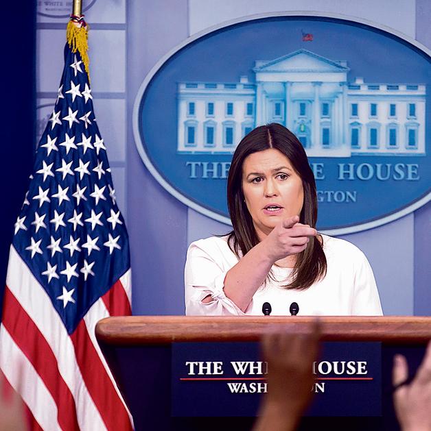 """סנדרס. """"היא האדם הכי חיוני בבית הלבן"""", אמר מקור לאתר """"פוליטיקו"""""""