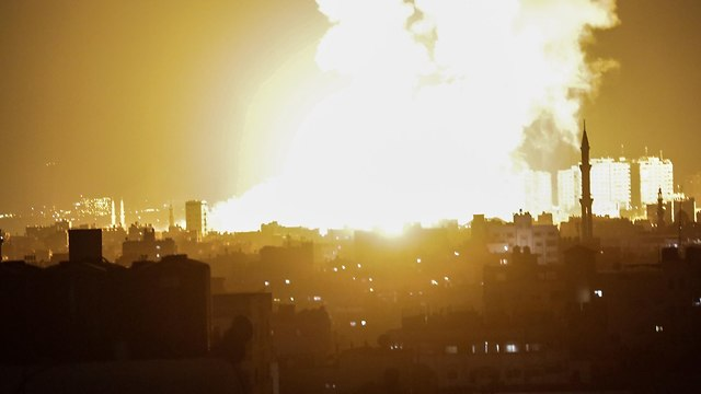 IDF bombardments in Gaza overnight (Photo: EPA)