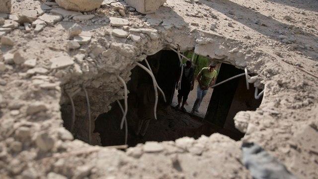 Удар по Газе. Фото: АР