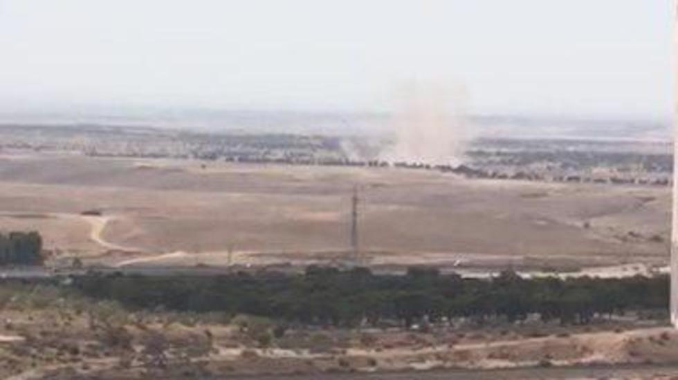אזעקה ראשונה בבאר שבע מאז מבצע צוק איתן נפלה בשטח פתוח ()