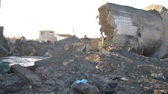 תוצאות התקיפה ברחבי עזה מתוך המערכות התקשורת הפלסטיניות ()