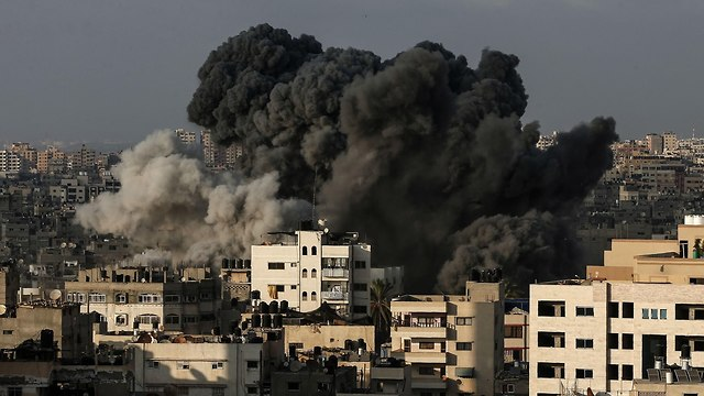 Israeli bombing in Syria (Photo: AP)