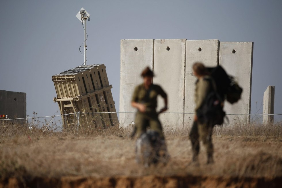 Iron Dome batteries near Gaza (Photo: AFP)