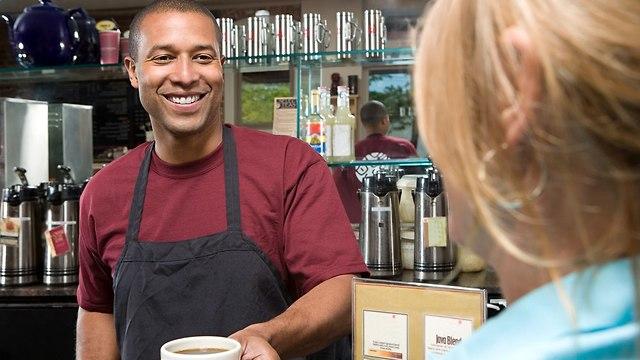 בריסטה בבר קפה (צילום: Shutterstock)