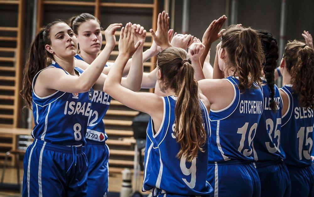 נבחרת הנערות (צילום: FIBA.com)