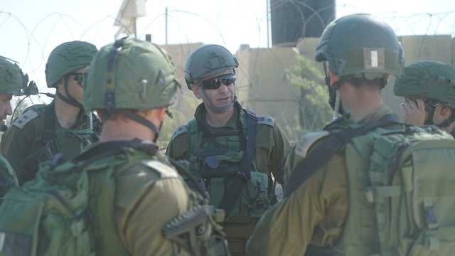 IDF forces in Gaza (Photo: IDF Spokesperson's Unit)