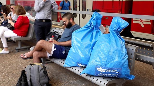 אבידות רכבת ישראל (צילום: טל שחר)