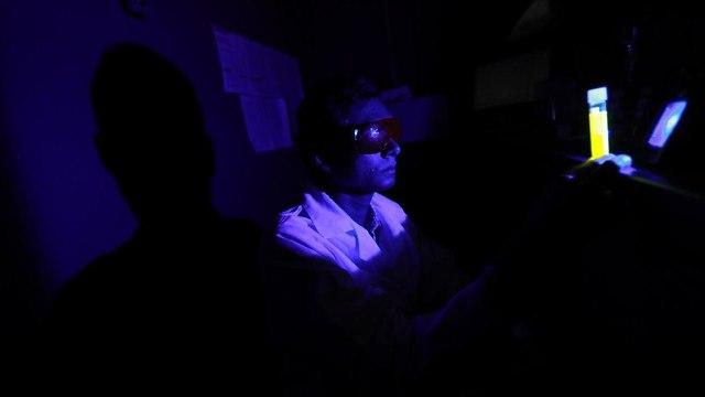 אור כחול (צילום: אונ' טולדו)