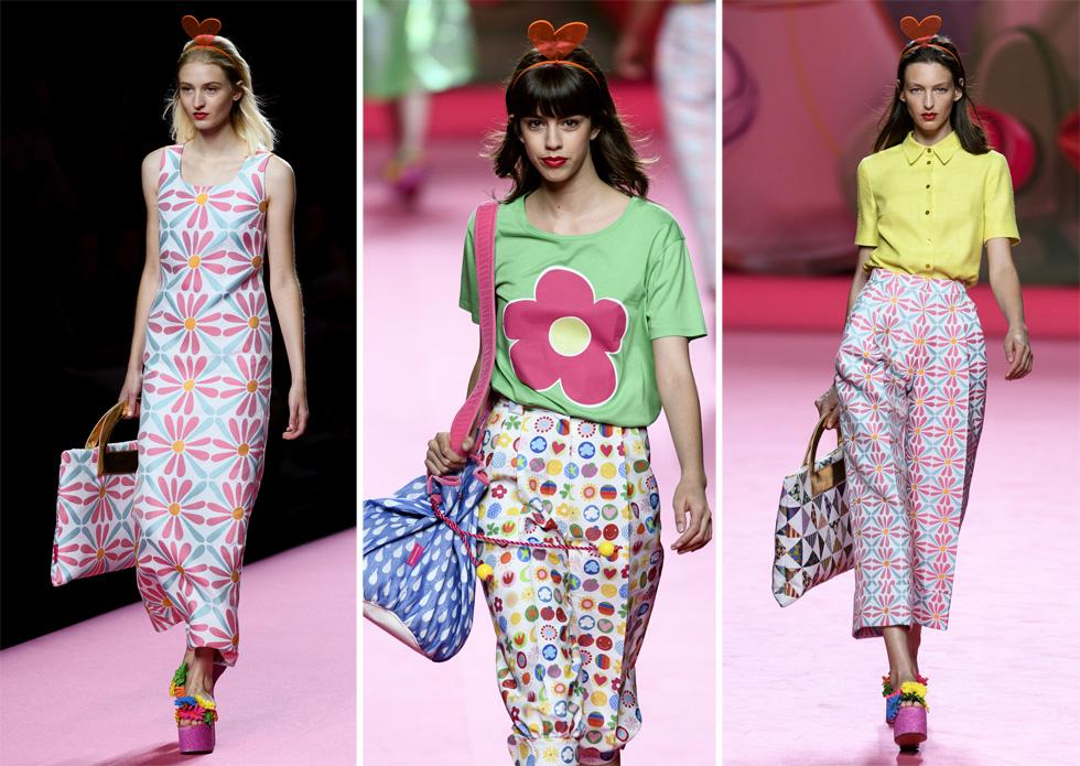 Agatha Ruiz de la Prada בשבוע האופנה מדריד שנערך בחודש שעבר (צילום: Juan Naharro Gimenez/GettyimagesIL)