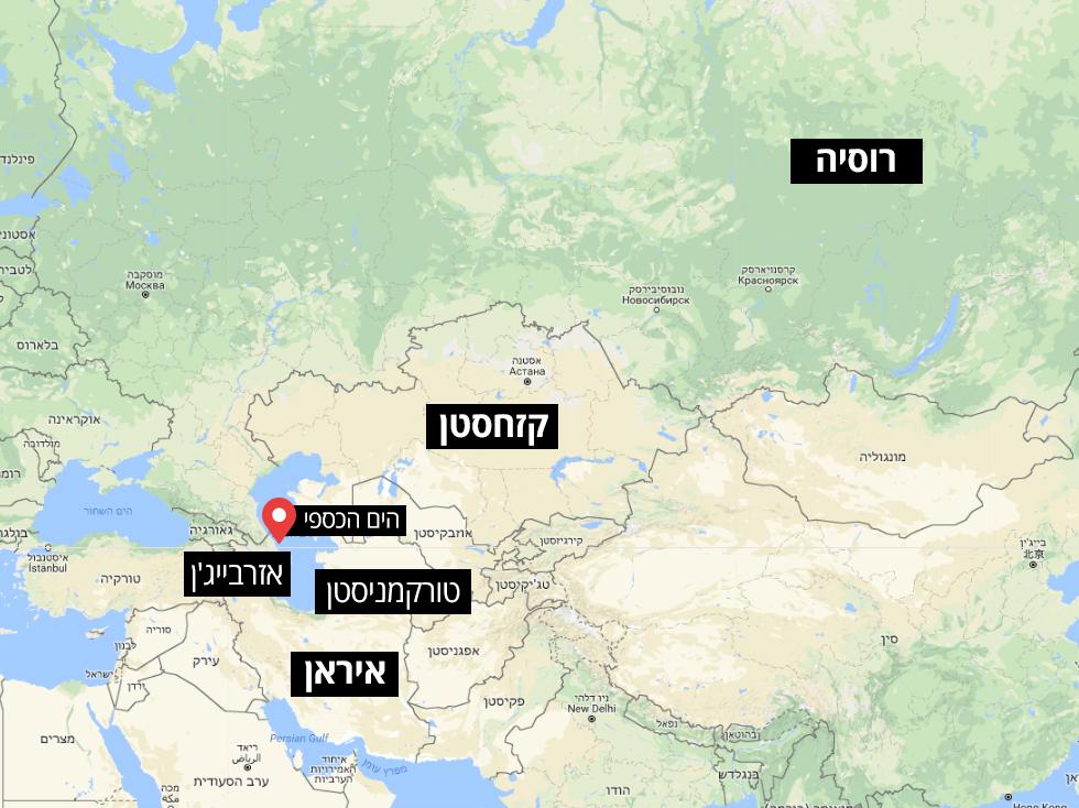 הים הכספי הסכם מפה אינפו גרפיקה ()
