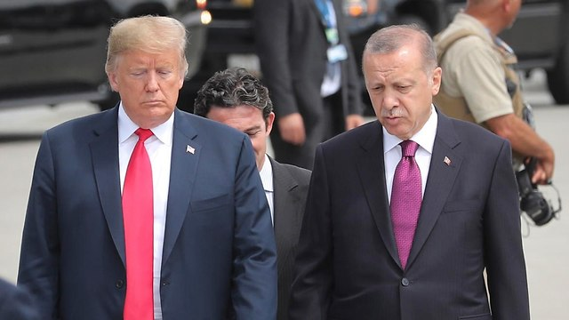 Image result for trump erdogan