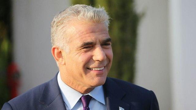 Yesh Atid Chairman MK Yair Lapid (Photo: Motti Kimchi)