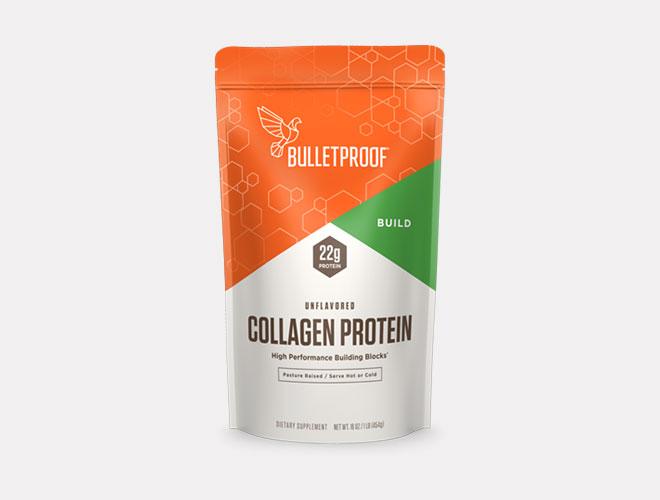 אבקת הקולגן של חברת הקפה Bulletproof. כ-36 דולר ל-19 יום (צילום: מתוך bulletproof.com)