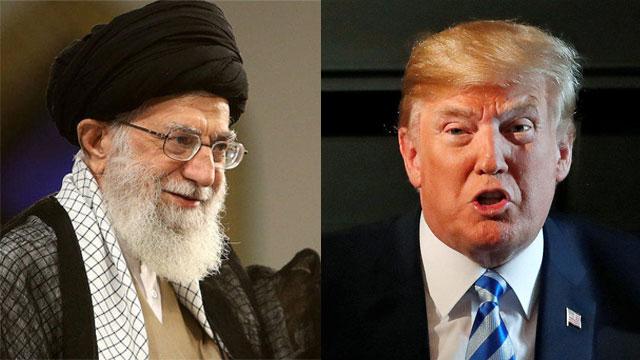 Ayatollah Ali Khamenei (L) and President Donald Trump (Photo: Reuters)