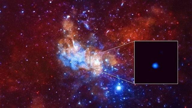 התפרצות קרינת רנטגן ב-2013, באזור החור השחור *Sagittarius A. הגורם להתפרצות היה כנראה אסטרואיד חסר מזל ש