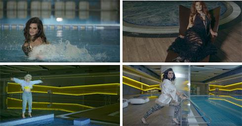 החברות השופעות של מארינה מקסימיליאן בלומין בקליפ החדש (צילום: דניאל קמינסקי, מתוך ערוץ ה YouTube של Marina Maximilian)