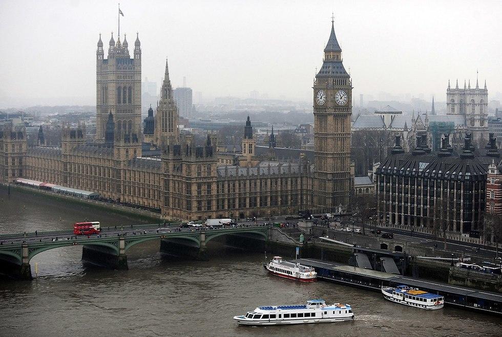 בניין הפרלמנט בלונדון (צילום: EPA)