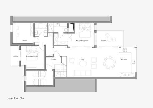 תוכנית הדירה, שבה גם יחידת אירוח ליולדות טריות (תוכנית: יונתן קנטי)