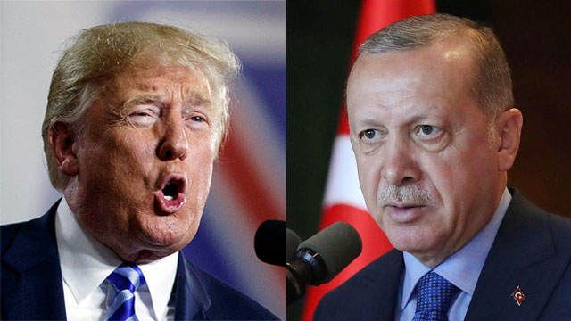 Trump, Erdogan (Photo: AFP, AP)